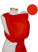 Chusta tkana  Storchenwiege Leo Orange 4,1m